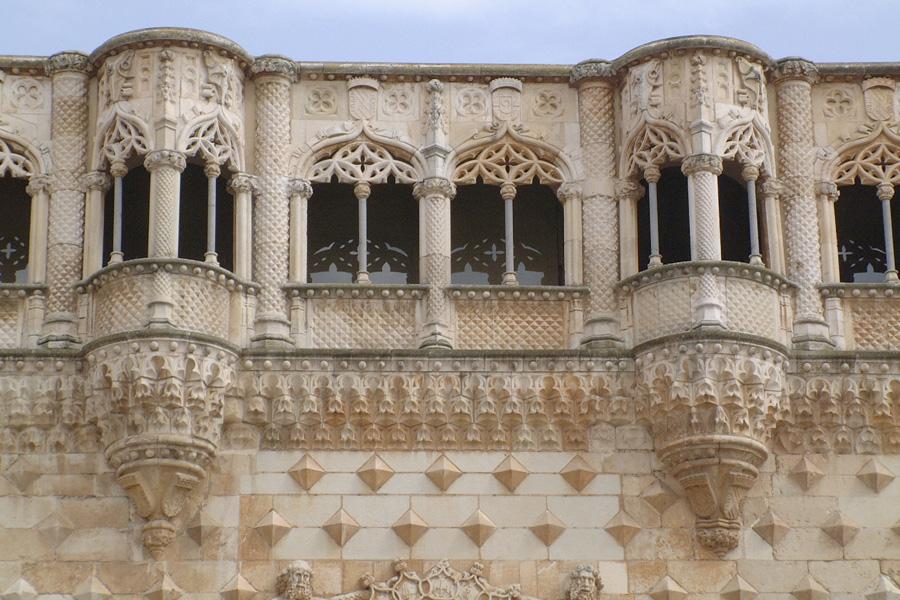 Palacio del Infantado en Guadalajara Galeria alta