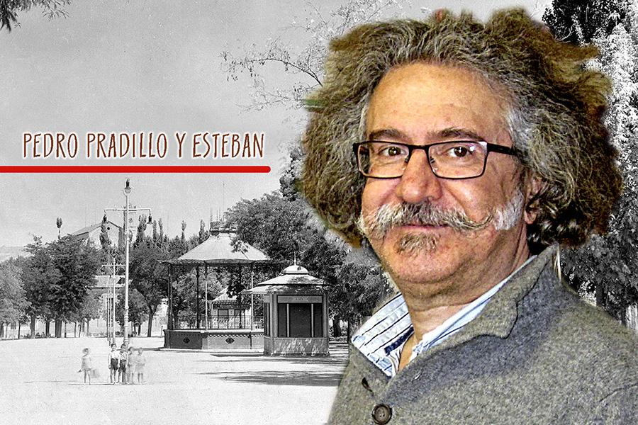 Pedro Pradillo Esteban escribe un libro sobre el Paseo de la Concordia de Guadalajara
