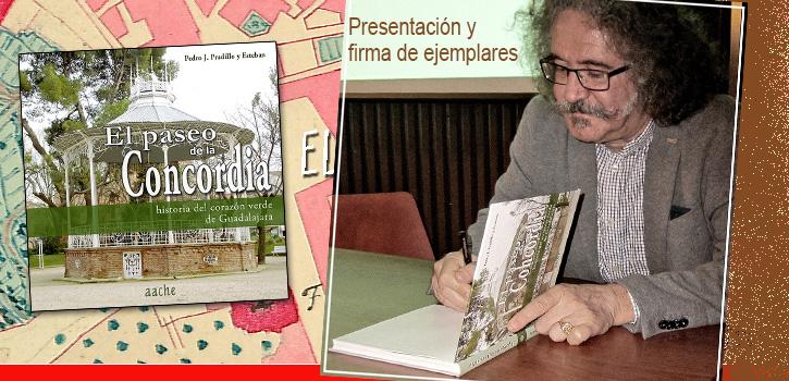 """Presentacion del libro """"El Paseo de la Concordia"""""""