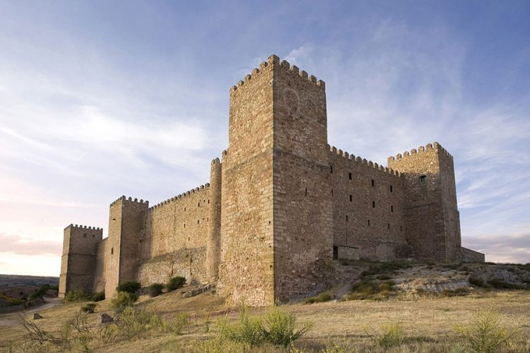 El castillo palacio de los Obispos de Sigüenza