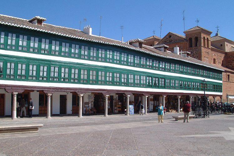 Plazas Mayores y Ayuntamientos de Castilla la Mancha