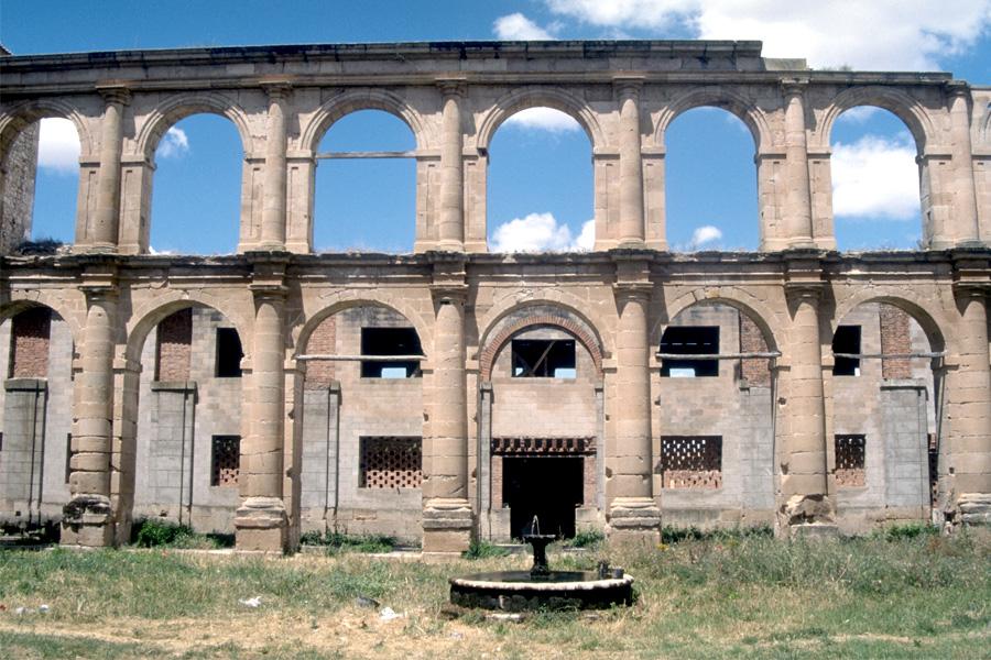 Monasterio de Sopetran junto al Badiel
