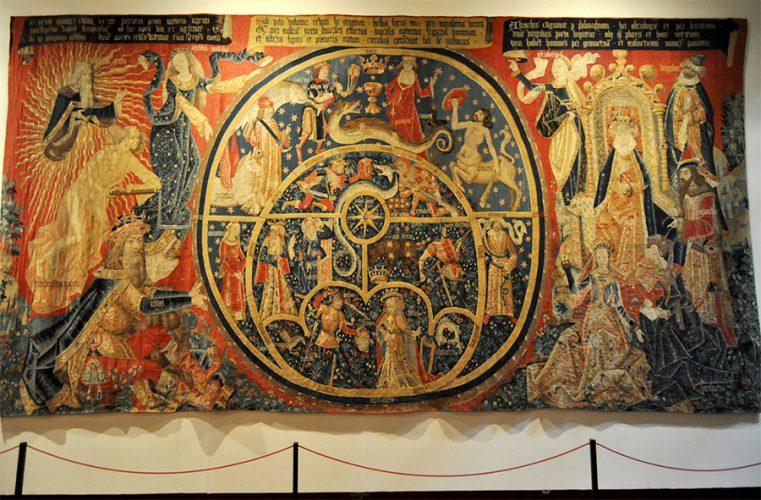 El tapiz de los Astrolabios en Toledo