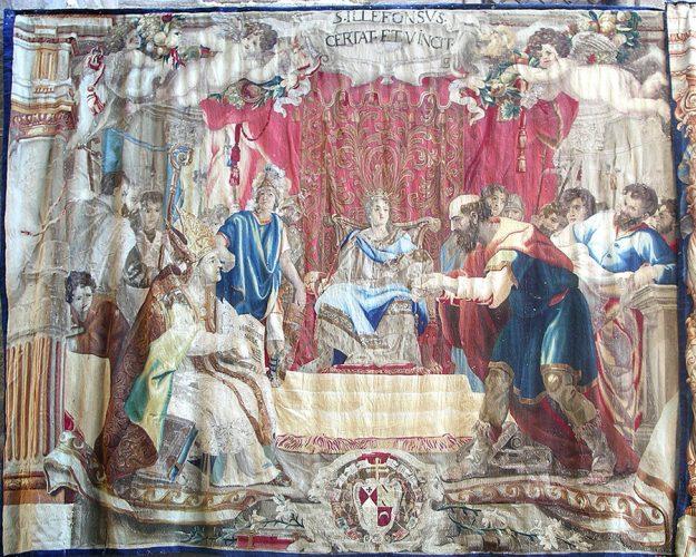 Tapices barrocos en el Corpus Christi de Toledo