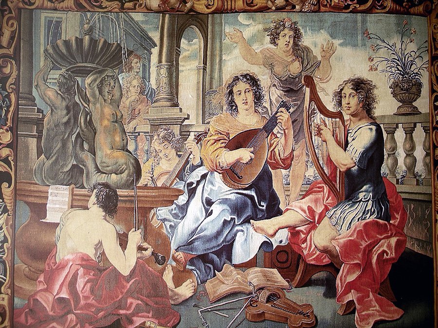 tapices barrocos de Toledo
