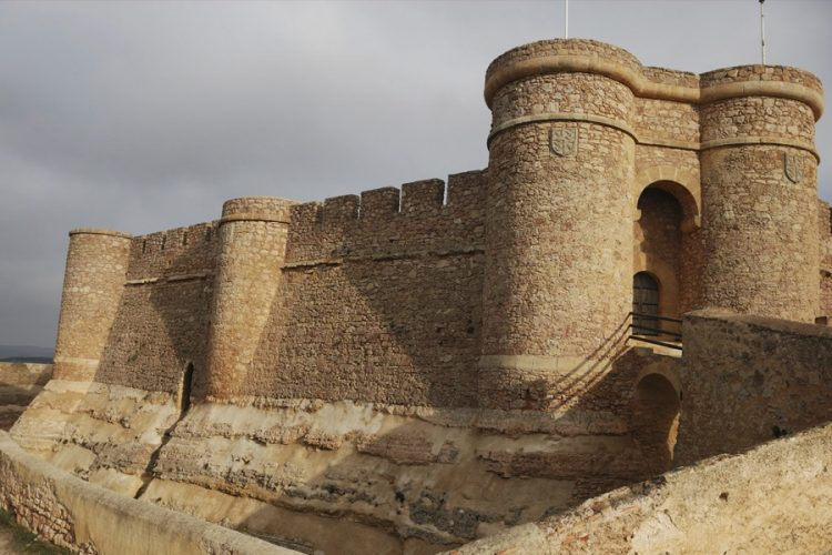El castillo de Chinchilla de Montearagon