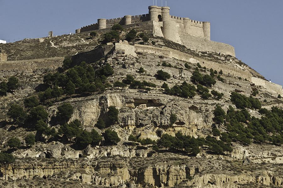 Castillo de Chinchilla de Montearagon en Albacete
