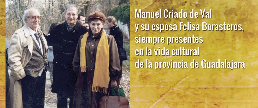 Manuel Criado de Val en su centenario