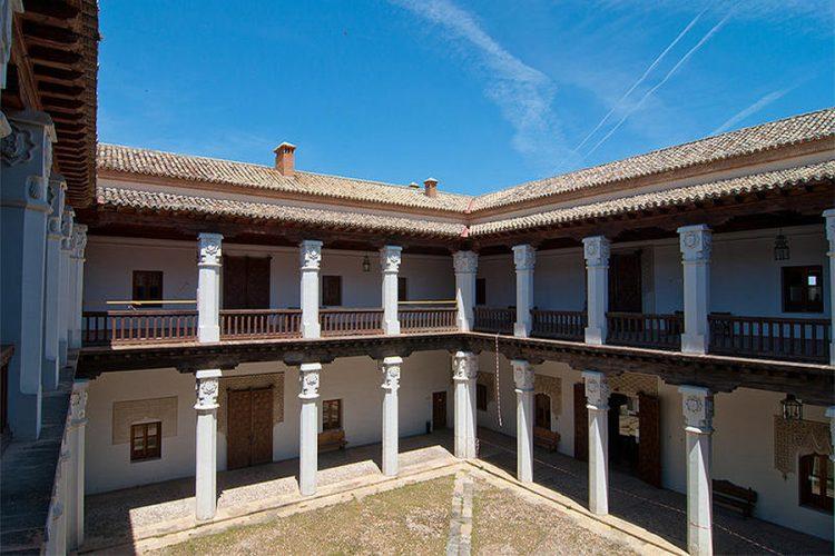 El palacio de los Cárdenas en Ocaña