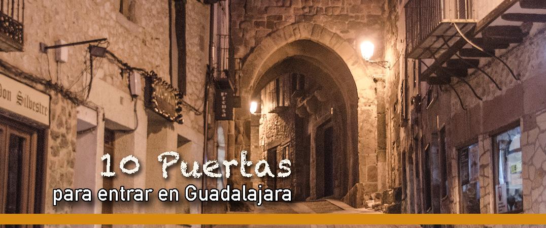 10 Puertas para entrar en Guadalajara