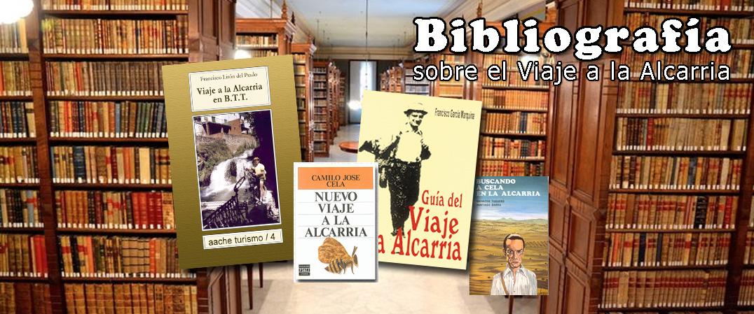 Bibliografia del Viaje a la Alcarria