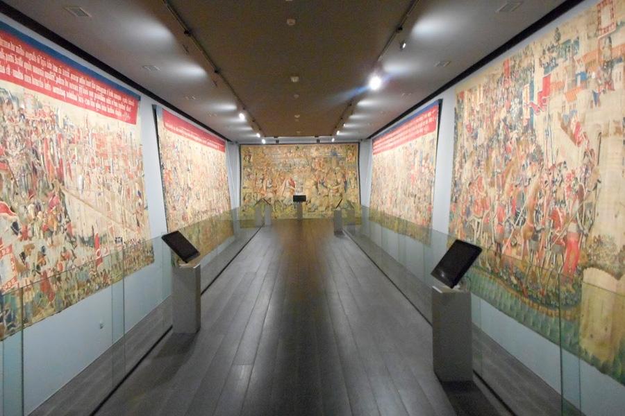 Tapices flamencos de Pastrana en el Museo de la Colegiata de Pastrana