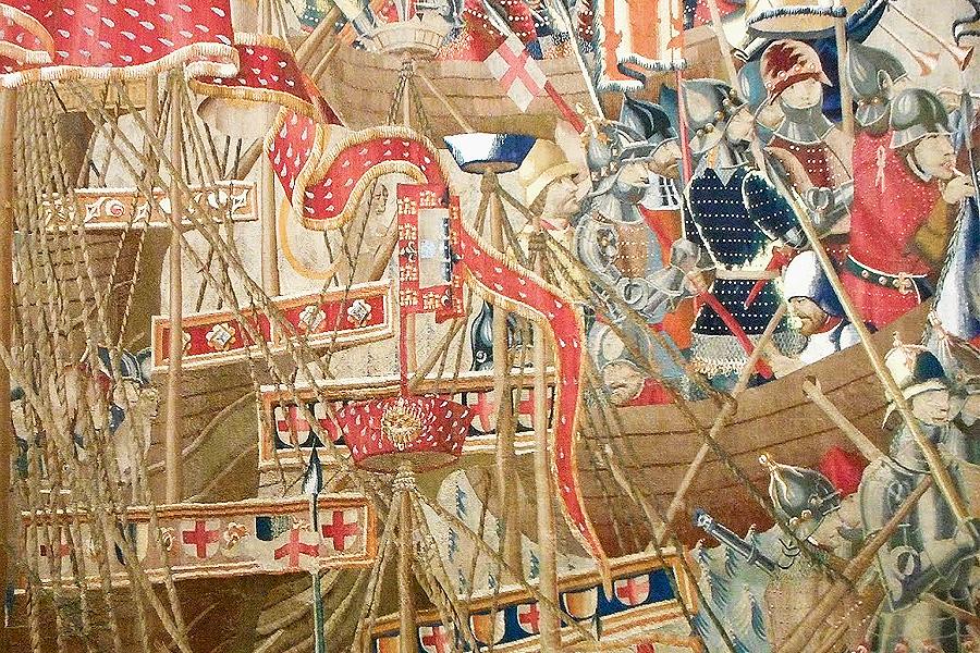 El tapiz del desembarco de Arcila, de Pastrana