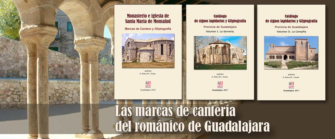Marcas de cantero en el románico de Guadalajara