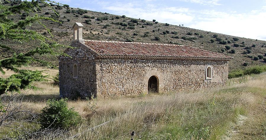 La ermita de la Virgen de Cirujeda en Alustante