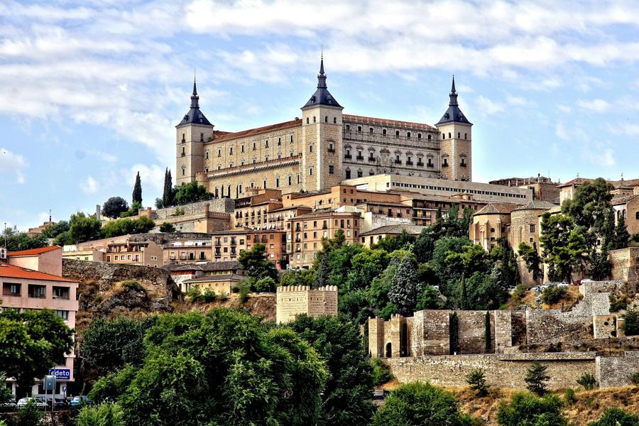 Toledo. El Alcázar. Castillos y fortalezas de Castilla la Mancha