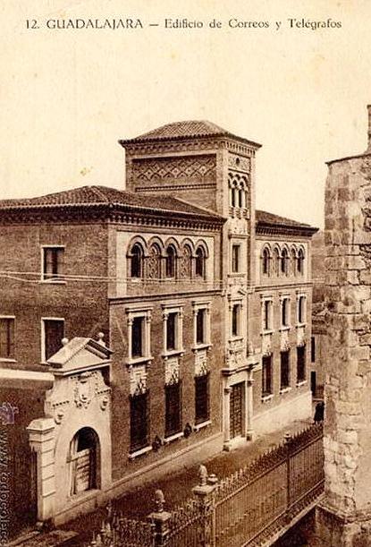 Edificio de Correos y Telégrafos de Guadalajara