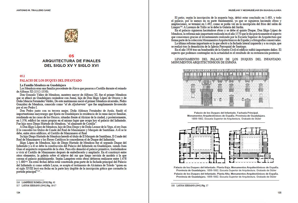Mudejar, pervivencia del mudejar, y neomudejar, en la arquitectura de la ciudad de Guadalajara