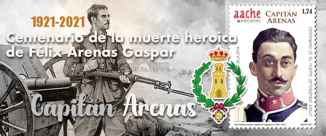 En el centenario de la muerte heroica del Capitán Arenas