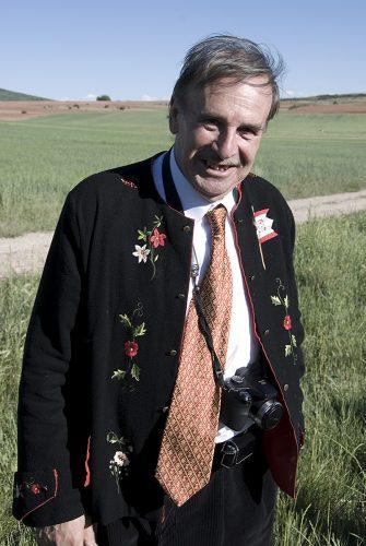 Santiago Bernal en la Caballada de Atienza en 2009