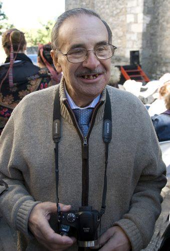 Santiago Bernal en 2010 en Arbancón