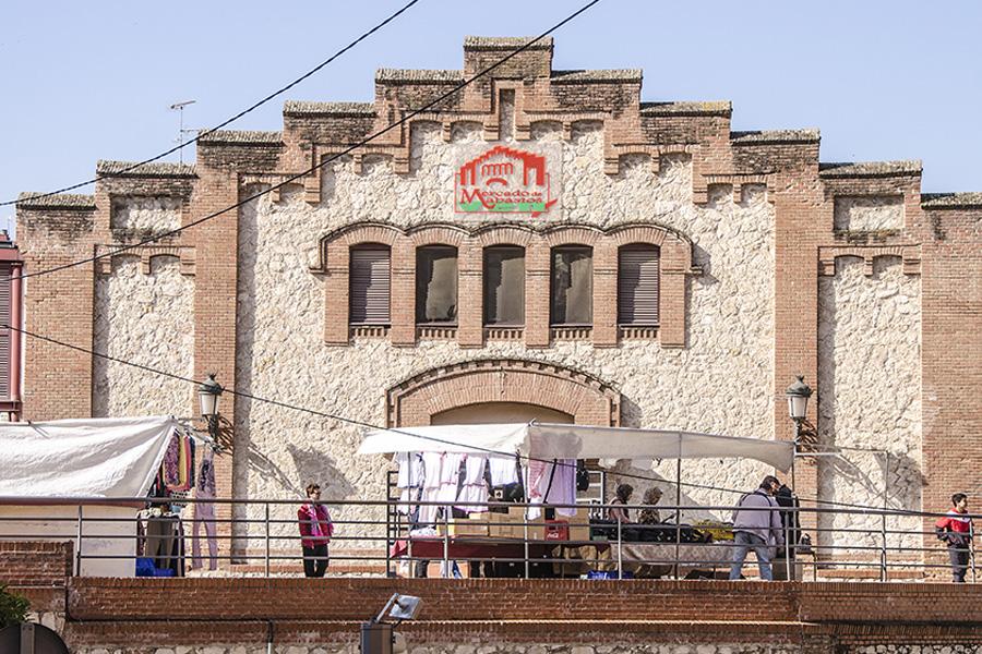 Arquitectura modernista en Guadalajara edificio del mercado