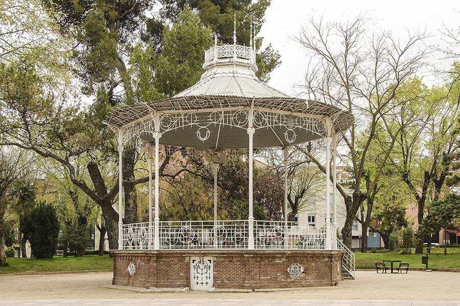 Arquitectura modernista en Guadalajara kiosko de la música en el paseo de la Concordia