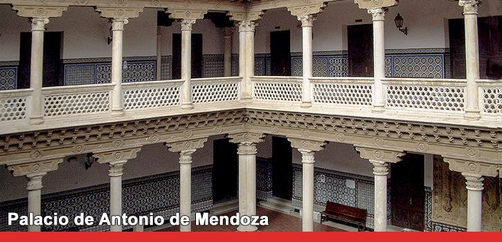 Palacio de don Antonio de Mendoza en Guadalajara