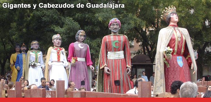 Gigantes y cabezudos de Guadalajara