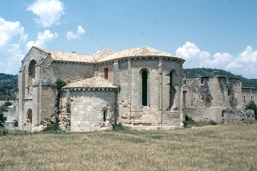 Monasterio de Monsalud en la Alcarria - Abside
