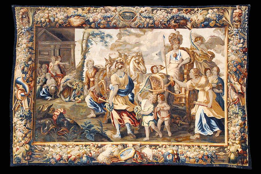 Sigüenza Tapices de Palas Atenea en la catedral