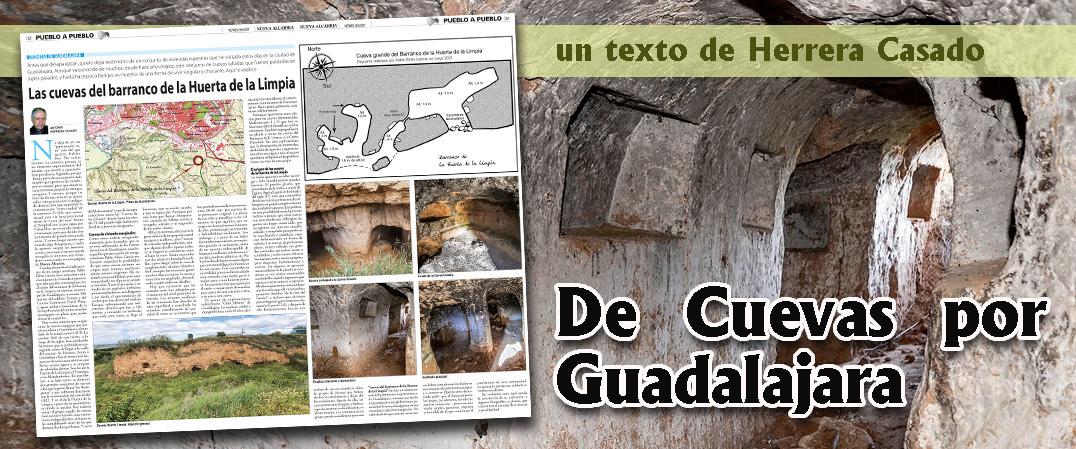 Las cuevas del barranco de la Huerta de la Limpia