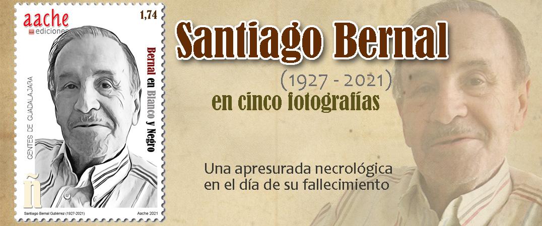 Santiago Bernal, en cinco fotografías